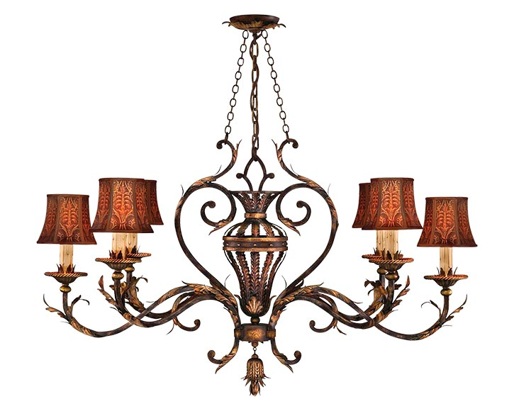 Fine Art Lamps Brighton Pavillion Candle Chandelier, $7,234 thelightingwarehouse.com, 604 270 3339