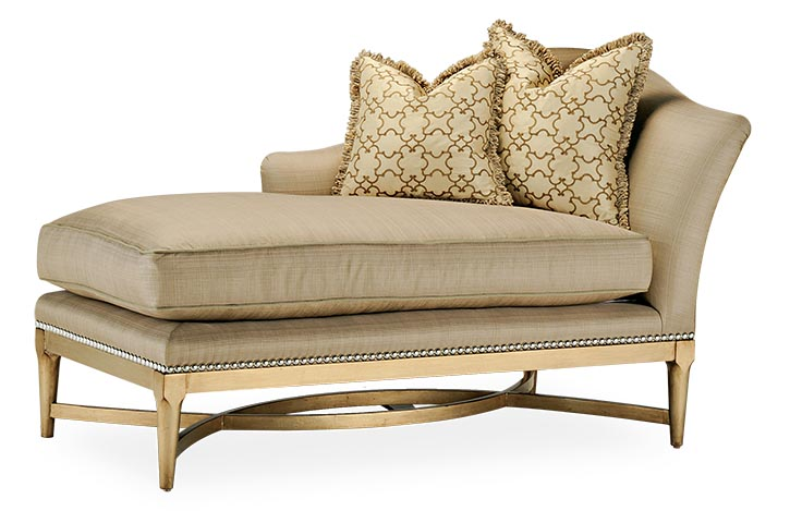 Marge Carson Design Tango Chaise, $5,995 paramountfurniture.ca  604 273 0155