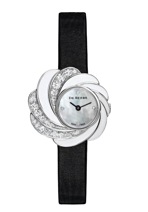 De Beers Aria Watch, $21,840 At De Beers Boutiques