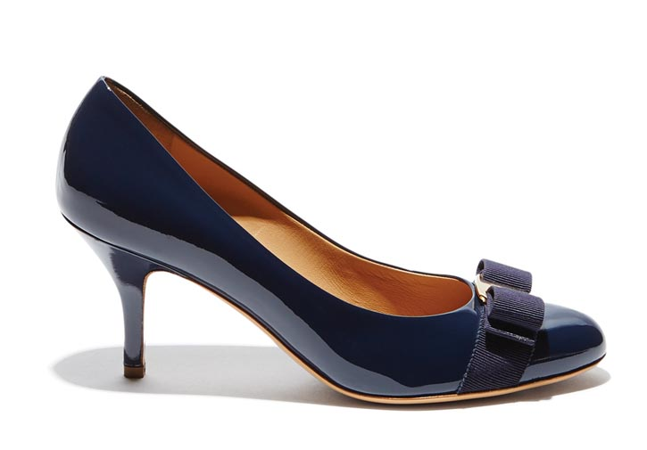 Salvatore Ferragamo Pumps ,  $605 At Salvatore Ferragamo Boutiques