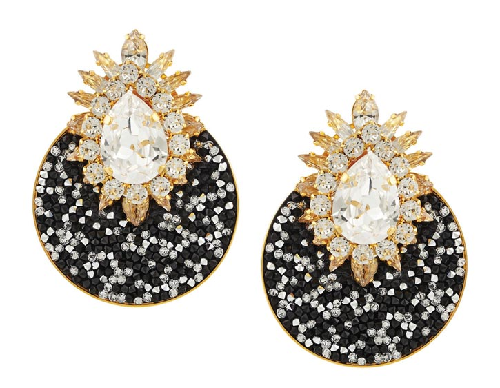 Shourouk Earrings, US$975 At Net-a-porter.com