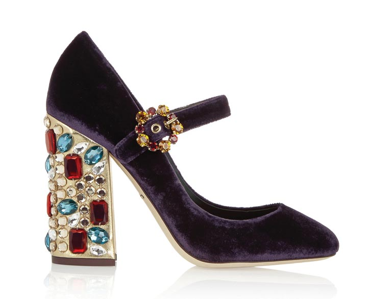 Dolce & Gabbana Pumps, US$1,695 At dolcegabbana.com