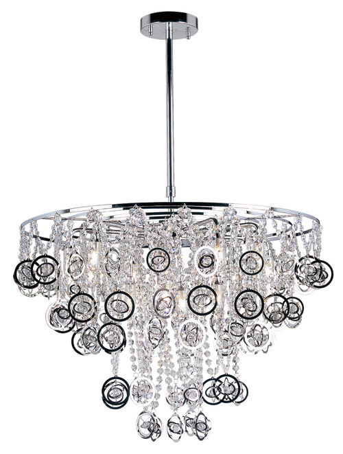 The Lighting Warehouse 12 Light Pendant, price upon request A Japanese-style all-crystal beads chandelier sets your home aglow with a naturally Oriental ambience. At The Lighting Warehouse, 604 270 3339 thelightingwarehouse.com
