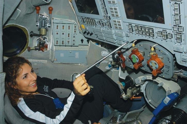 Iranian Anousheh Ansari, the only female space tourist to date.