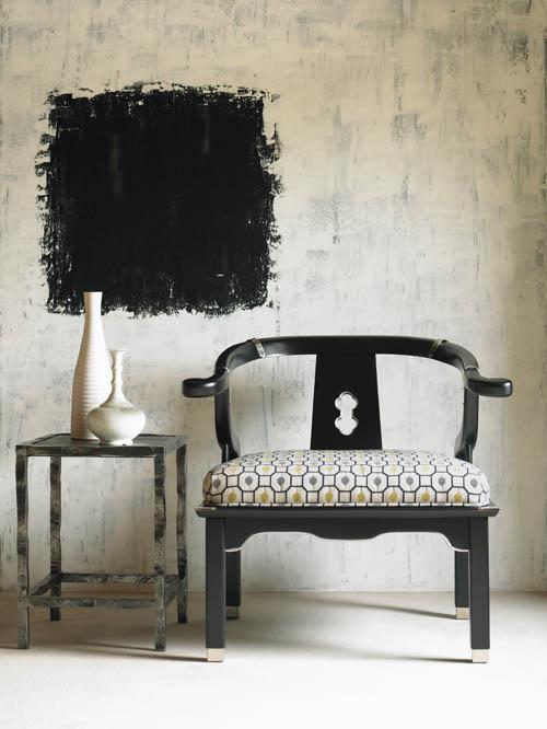 Century Furniture Serenity Chair, $1,549 paramountfurniture.ca,, 604 273 0155