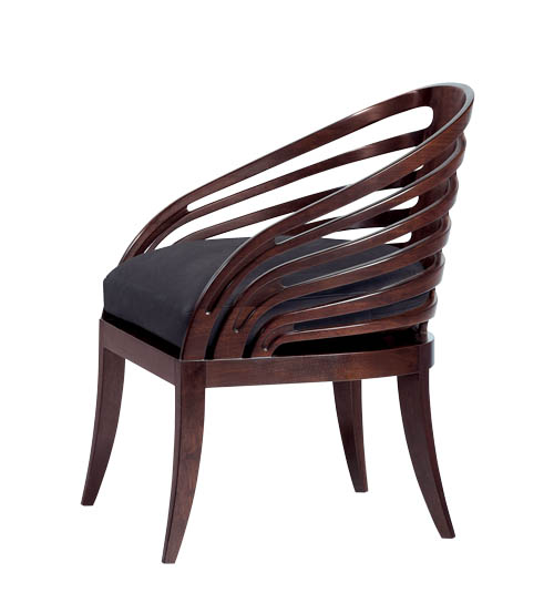 Holly Hunt Rib Chair, starting at $9,730 studiobhome.com, 416 363 2996