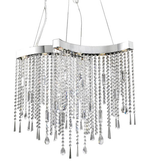 The Lighting Warehouse Eight Light Pendant, $2,247 Create soft, romantic atmosphere with Egyptian crystal pendants cascading like water over a falls. At The Lighting Warehouse, 604 270 3339 thelightingwarehouse.com