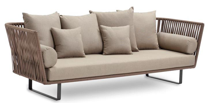 Kettal Bitta 3-Seater Sofa Kettal Bitta informinteriors.com, 604 682 3868