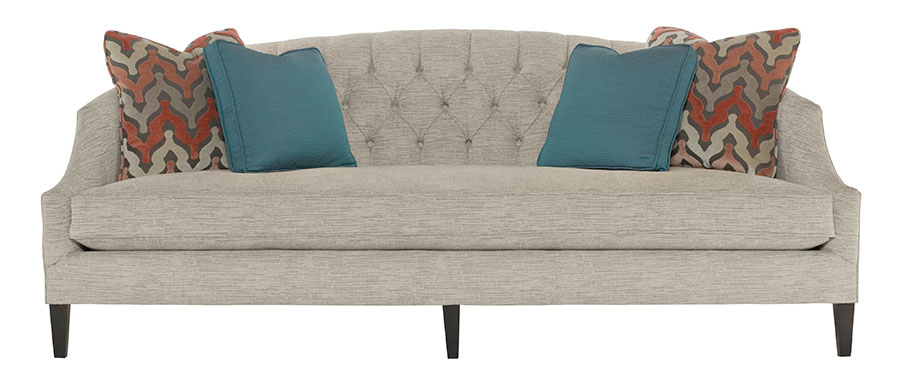 Bernhardt Furniture Diane Sofa, $2,295 Start with a neutral piece that invites cuddling. This William Birch style with a tufted back sets the stage for comfort. At Paramount Furniture, (604) 273-0155 paramountfurniture.ca