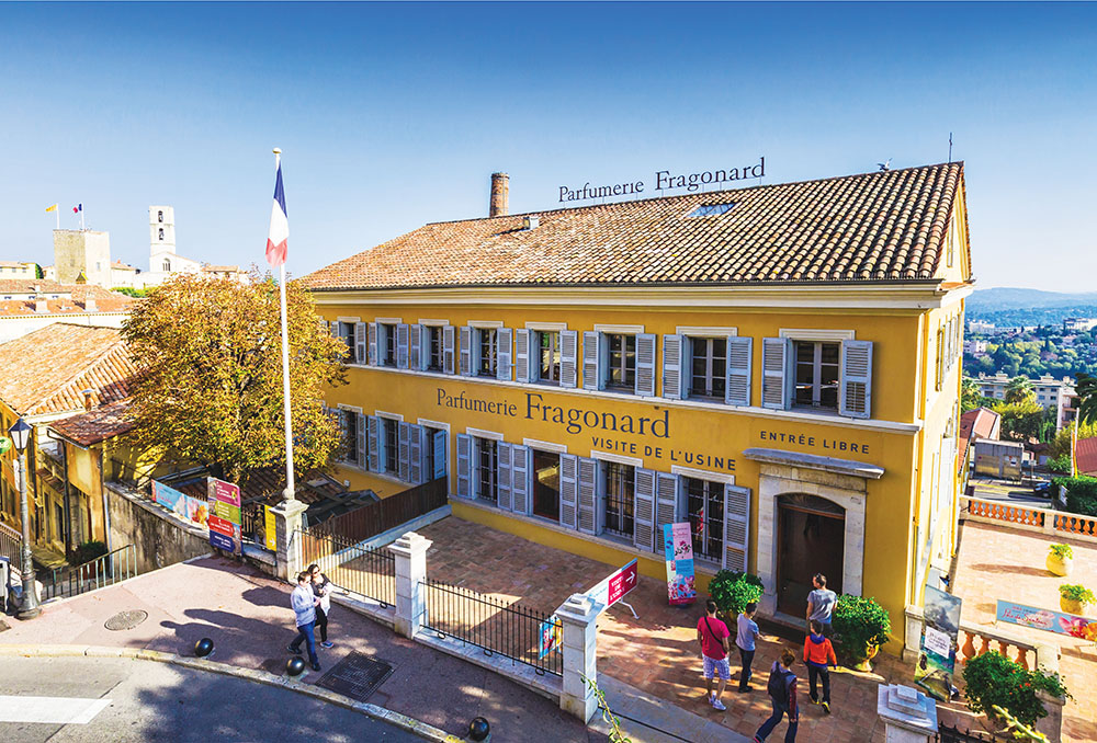 Parfumerie Fragonard, one of three Grasse perfume factories open for public tours.