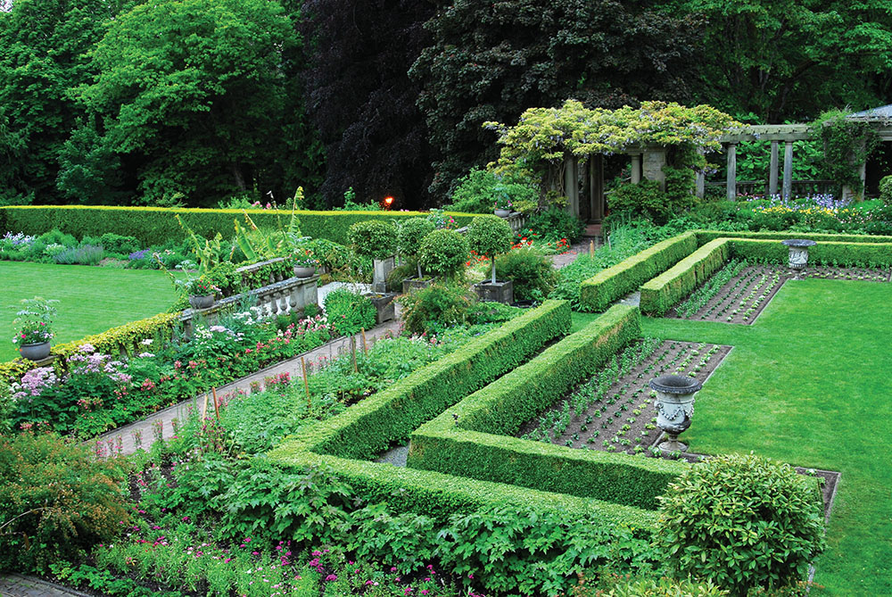 Canada's largest Edwardian gardens are found at Hatley Castle & Gardens.
