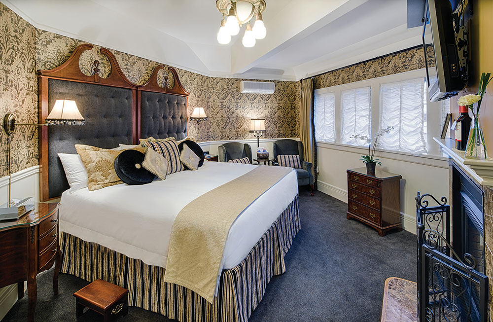 Abigail's Hotel is a cross between a romantic bed-and-breakfast and small luxury hotel.