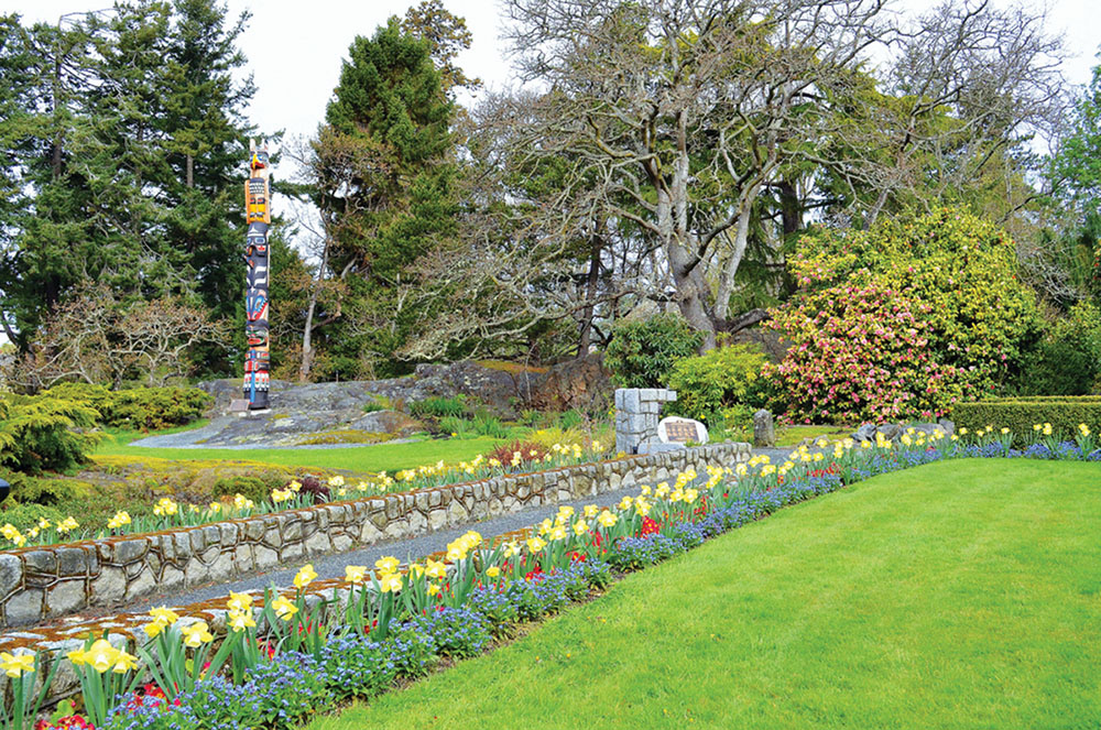 Take a walk. Victoria has lovely trails in the heart of the city.