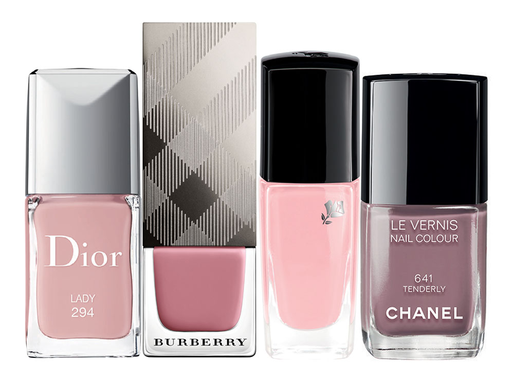 Dior Vernis Lady Burberry Nail Polish Lancôme Vernis In Love Chanel Tenderly Le Vernis