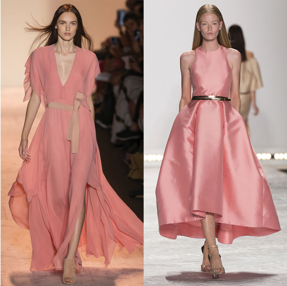 Left:   BCBG ,  Right:  Monique Lhuillier