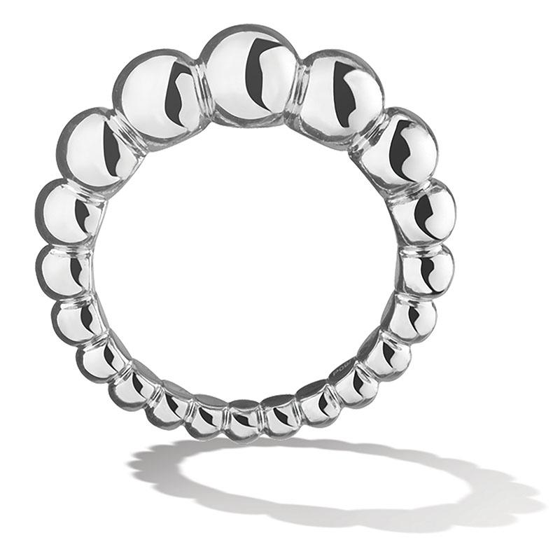 Van Cleef & Arpels Perlée Variation Ring$2,600