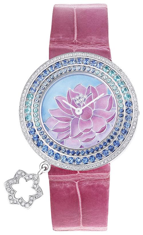 Van Cleef & Arpels Lotus Watch, $77,000