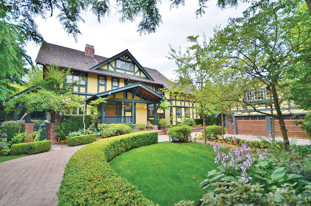 A 1912 Tudor-style home in Shaughnessy. Margot Keate-West was recently honoured with an award for its beautiful restoration.