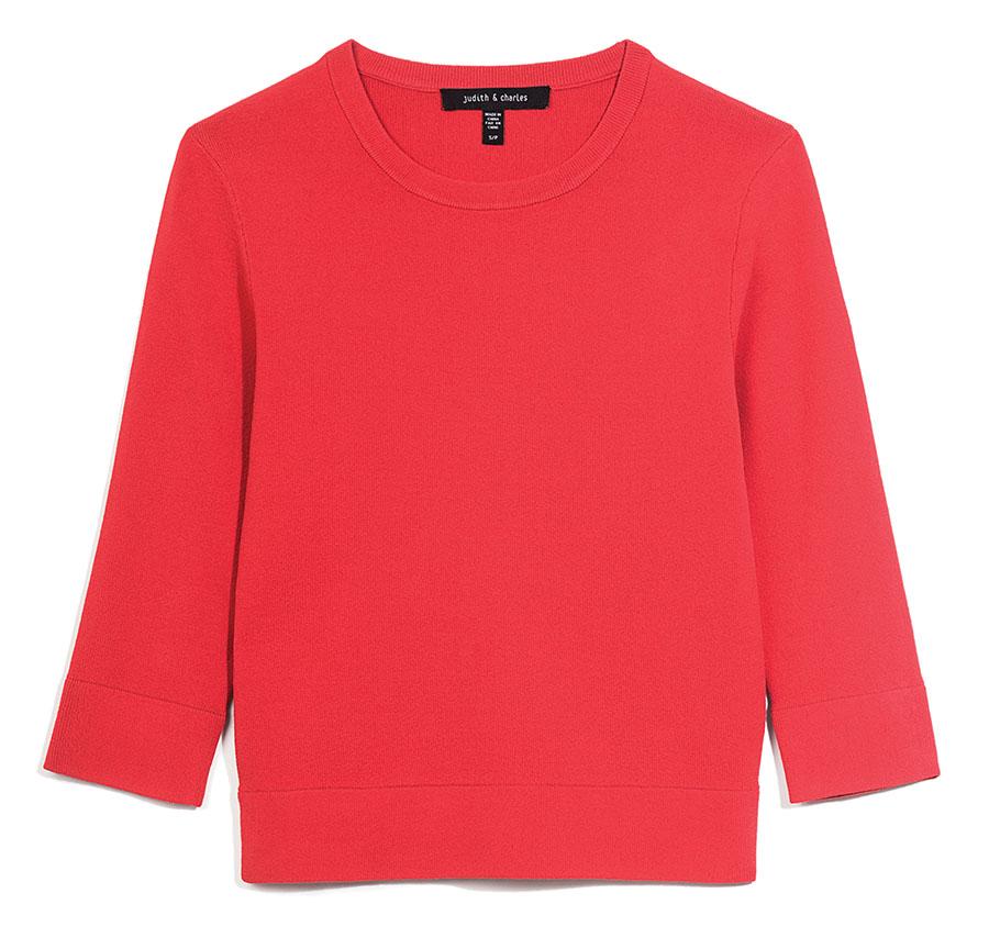 Judith & Charles Sweater, $265