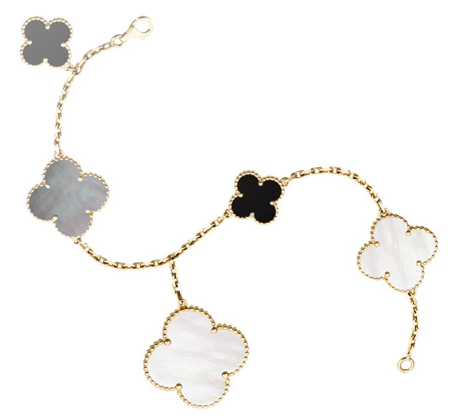 Van Cleef & Arpels Magic Alhambra Bracelet, $6,500