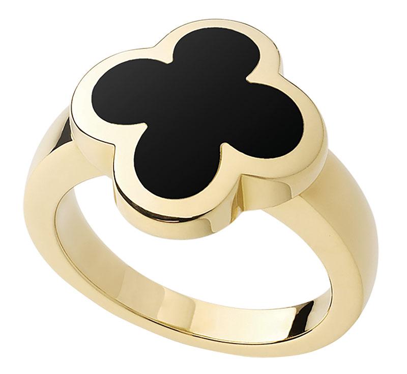 Van Cleef & Arpels Pure Alhambra Ring,$4,700