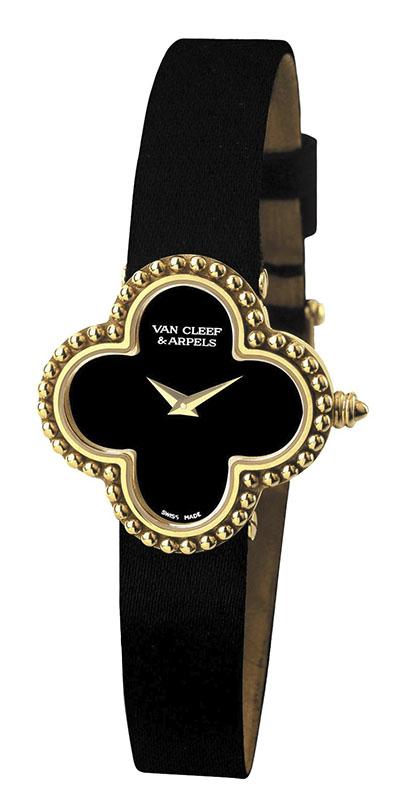Van Cleef & Arpels Alhambra Vintage Watch, $7,850