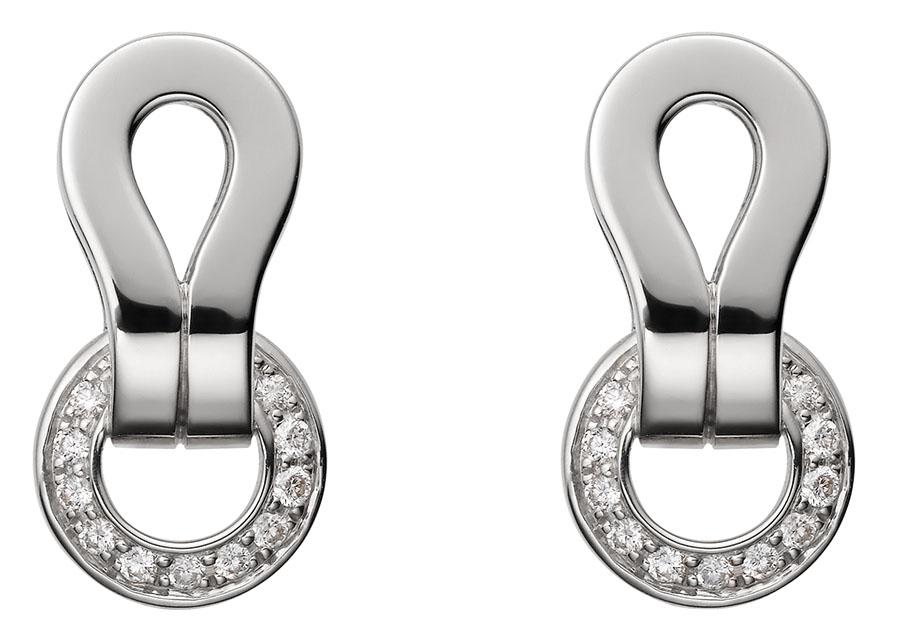 Cartier Agrafe Earrings,$6,000