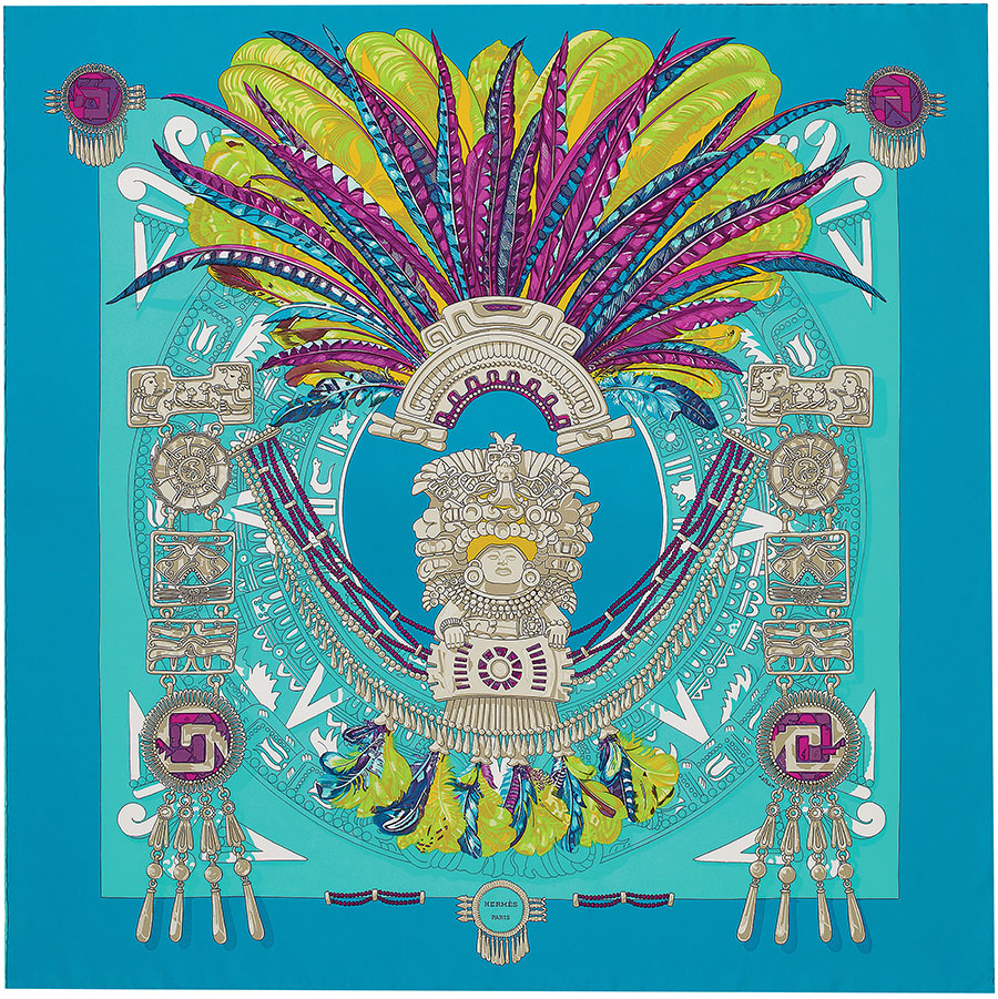 Hermès Mexique Scarf, $420