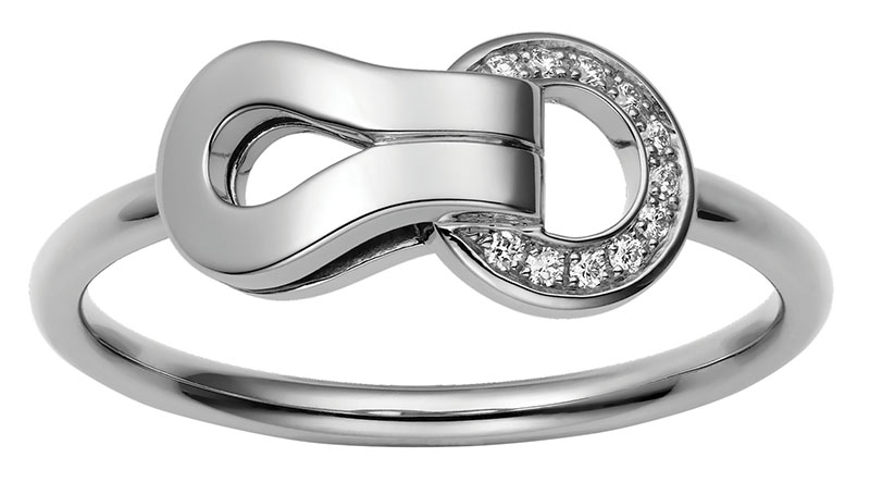 Cartier Agrafe Ring, $3,450