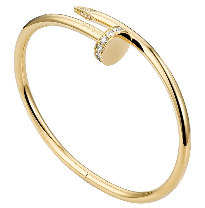 Cartier Juste Un Clou Bracelet, $13,100