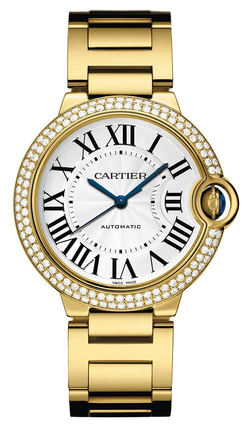 Cartier Ballon Bleu Watch, $55,000