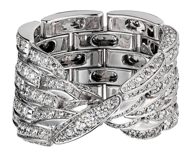 Cartier Maillon Panthère Ring, $42,200