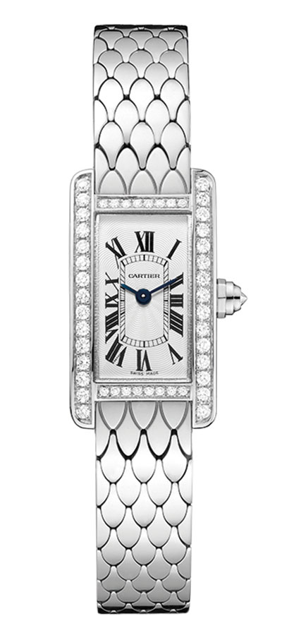 Cartier Tank Américaine Watch (Mini Model), $39,800