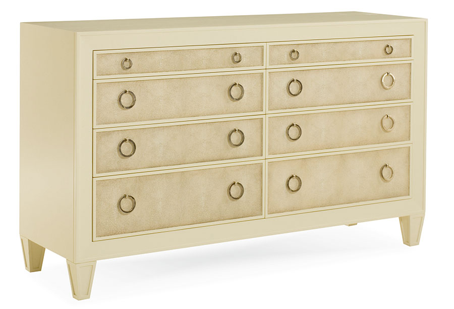Century Furniture Taylor Dresser, $3,895 Bask in the beauty of high function. A faux-stringray trim accents a symmetrical design, with ingenious details like a built-in jewelry tray. At Paramount Furniture, (604) 273-0155 paramountfurniture.ca