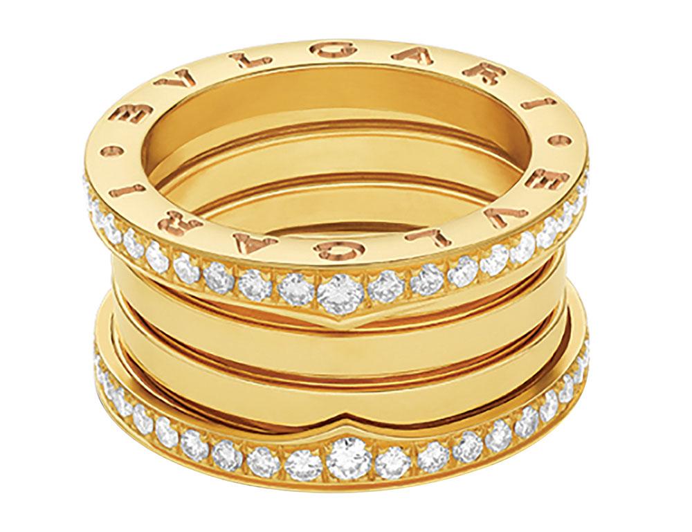 Bulgari B Zero1 Ring  womens jewelery