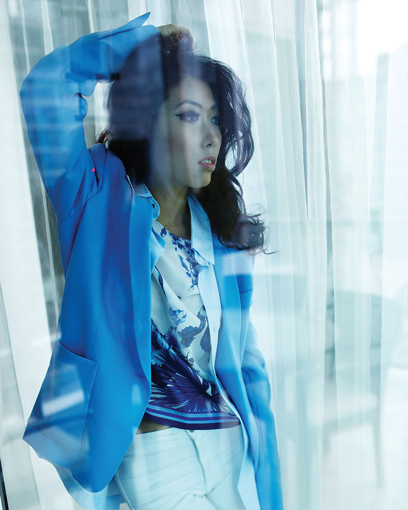 Stella Mccartney Fleur Jacket $2,160 Etro Short Sleeve Top $845 Eskandar Button Up Shirt $580 At Holt Renfrew, (604) 681-3121, holtrenfrew.com