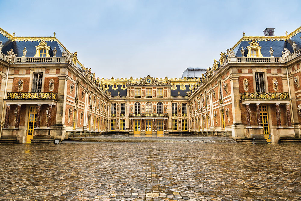 From 1682-1790, Versailles was the official home of the kings of France.