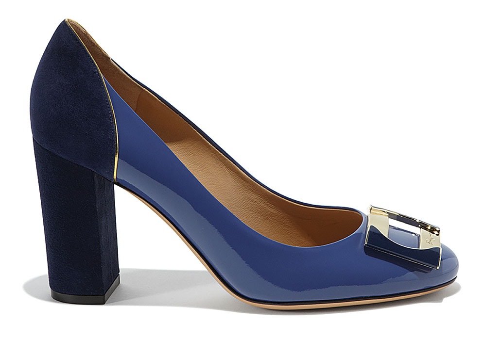 Ferragamo Ornament Plate Pumps
