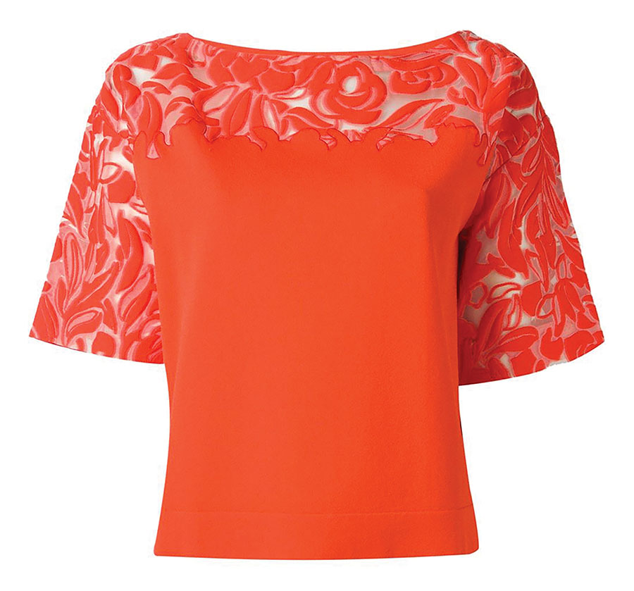 Blumarine Embroidered Top , $1,353