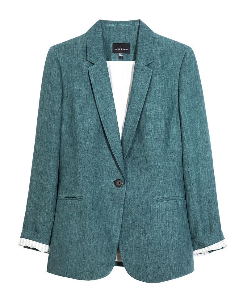 Judith & Charles Zen Jacket,$425