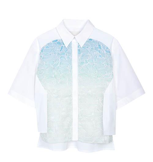 Peter Pilotto blouse,$1,265 At Holt Renfrew