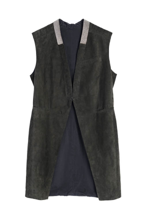 Brunello Cucinelli vest,  $5,680   At  Holt Renfrew