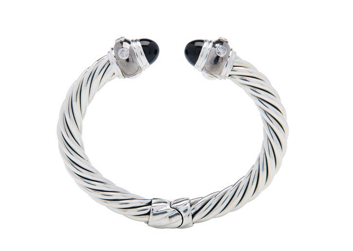 David Yurman bracelet,$2,730 AtHolt Renfrew