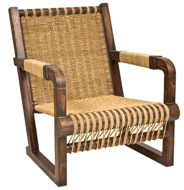 Ralph Lauren Home Joshua Tree Chair, $2,395 A weathered surface, solid frame and fine weaving, all comfortable and sturdy, bear witness to the past. At Jordans Interiors, 604 733 1174 jordans.ca
