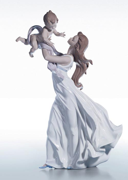 Lladró My Little Sweetie Sculpture, $1,090 Porcelain captures the delicate dance of a mother and child and their deep love for each other. At Atkinson's, 604 736 3378 atkinsonsofvancouver.com
