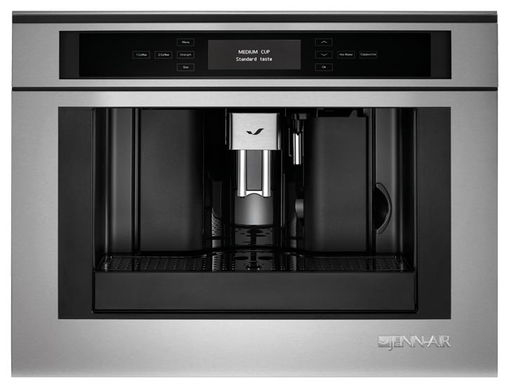 "Jenn-Air 24"" Built-in Coffee System  jennair.ca,   800 536 6247"