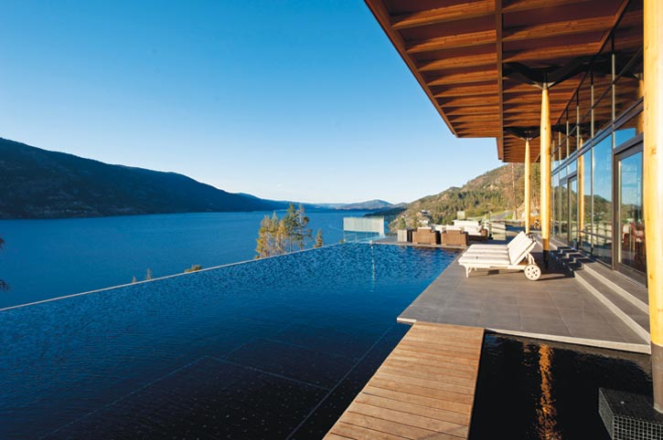 Recreation properties taste of life for Pool design kelowna