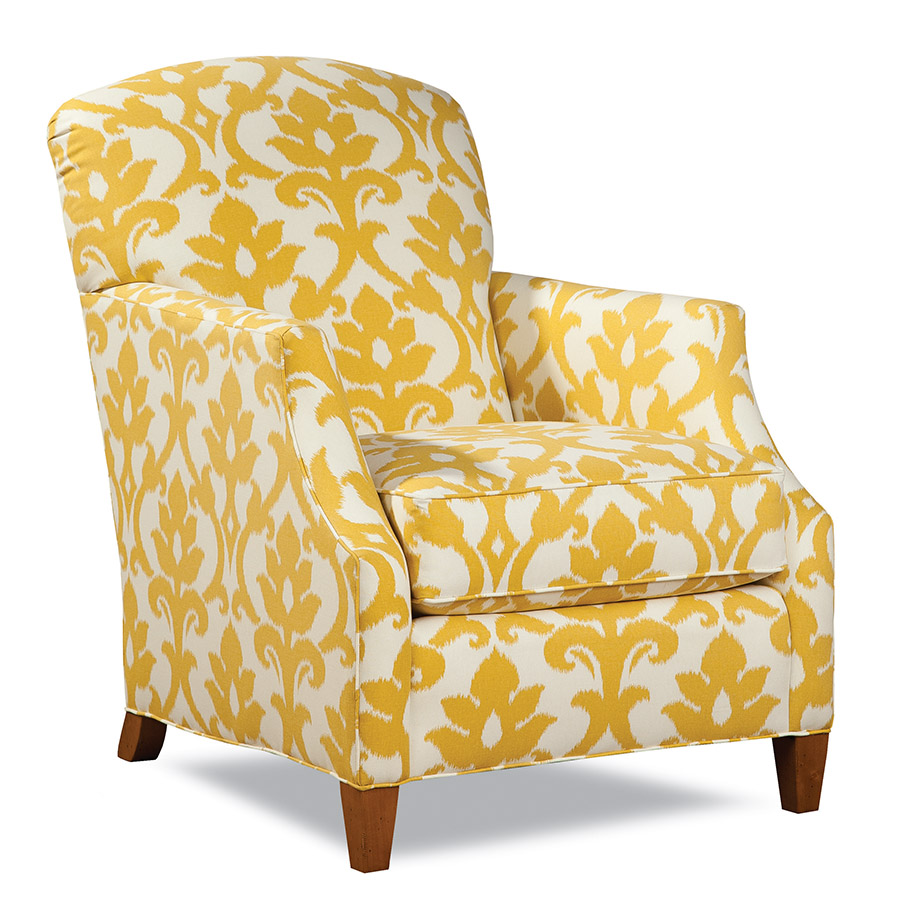 Huntington House Chair $1,995  This chair embodies the brightness of a summer day. Place near a window to create an inviting spot to curl up with a hot bestseller.  At Paramount Furniture Boutique, (604) 273-0155 paramountfurniture.ca