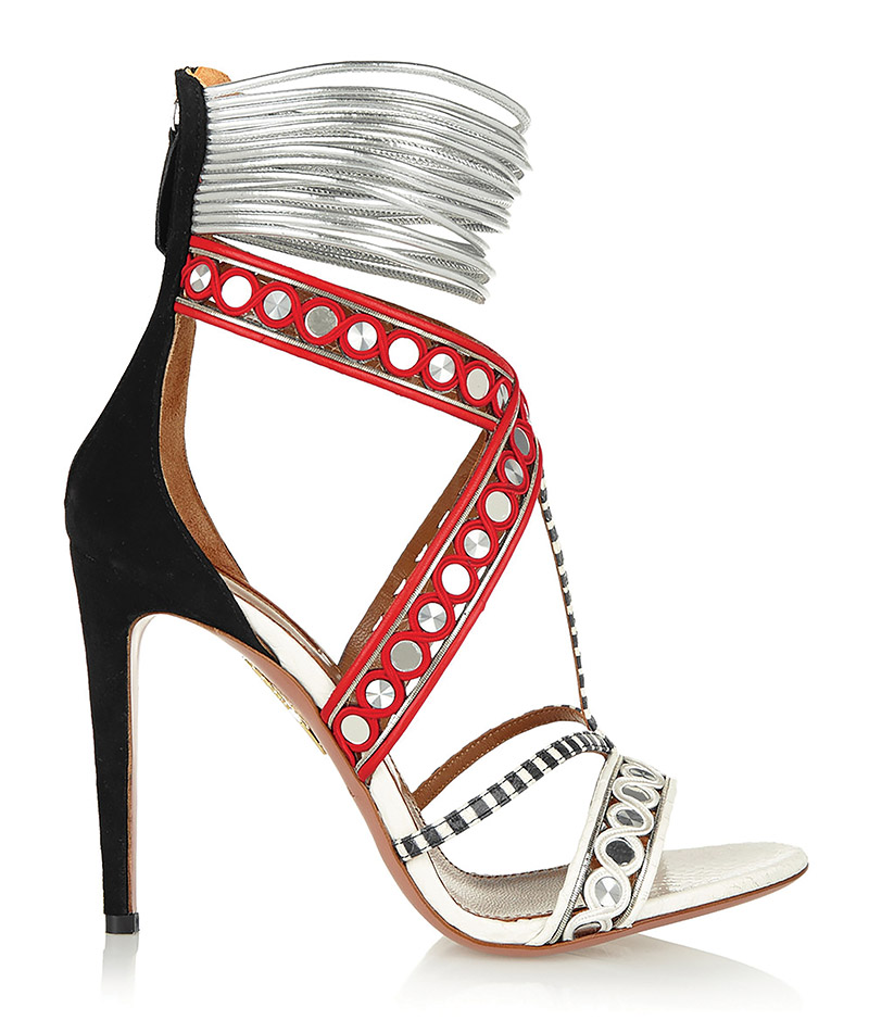 Aquazzura Embellished Sandals women shoes