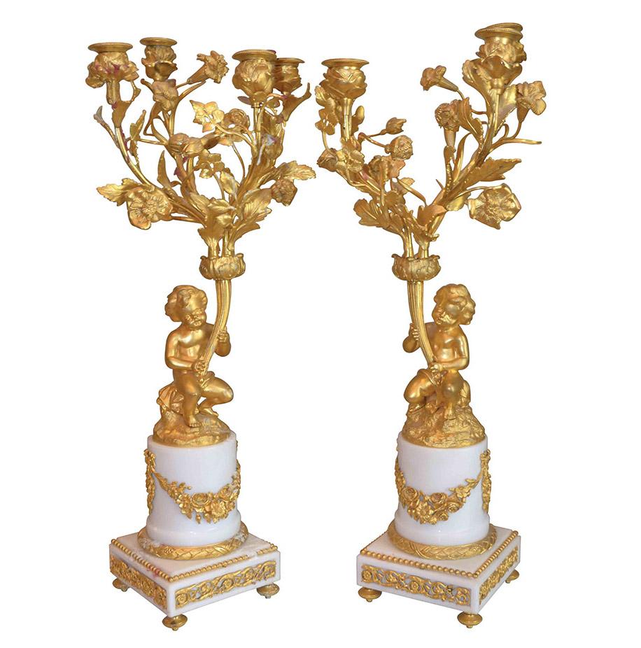 Three Centuries Antiques Candelabra